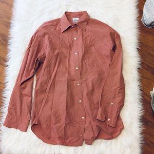 J. Crew men's long sleeve button up shirt